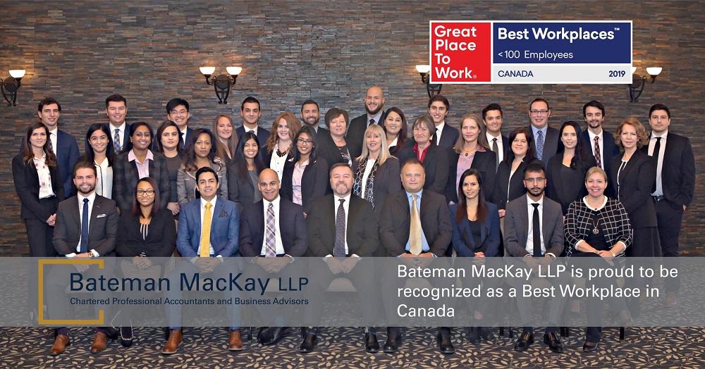 Chartered Public Accounting firm Bateman MacKay Burlington tax specialists Mississauga