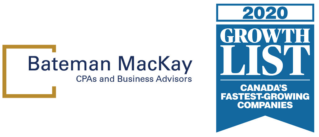 Bateman MacKay in 2020 Growth Top in Canada-Business Networking Oakville
