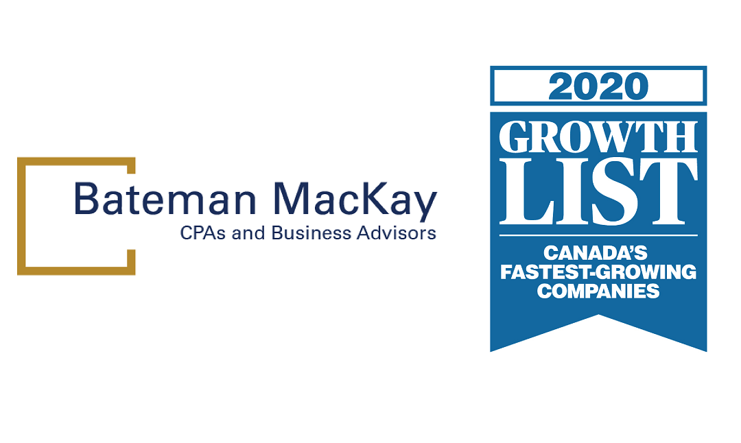 Bateman Mackay LLP Ranks No. 351 on the 2020 Growth List
