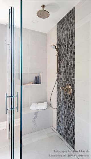 modern bathroom interior design Oakville