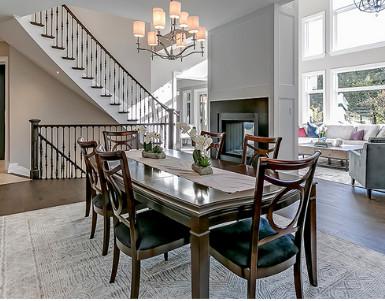 interior furnishings designed by Pizzale Design Oakville