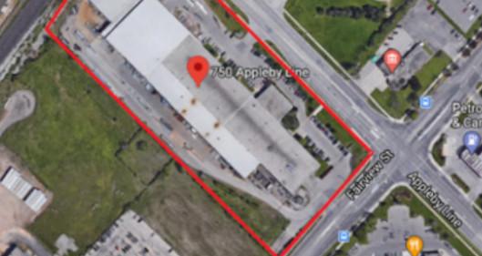 Industrial transaction Burlington Commercial Real Estate 750 Appleby Line